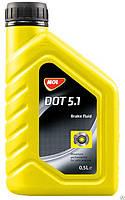 Тормозная жидкость MOL DOT 5.1 0,5 л