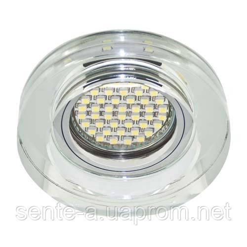 Вбудований світильник Feron 8080-2 з LED підсвічуванням