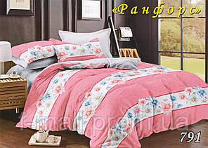 Двуспальное постельное белье Тет-А-Тет (Украина)  ранфорс (791)