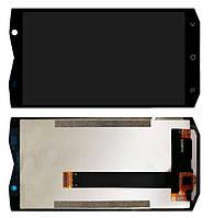 Blackview BV8000 / BV8000 Pro дисплей в зборі з тачскріном модуль чорний