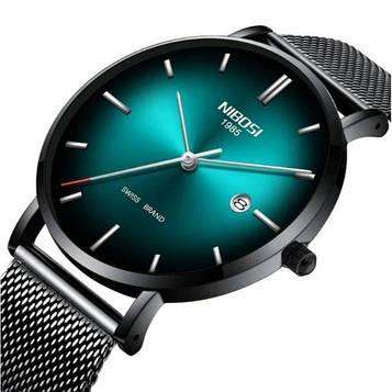 Мужские часы оригинальные бренда Hemsut Nibosi Green