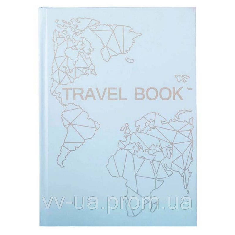Книга записная Travel Book Blue (4820219980018)