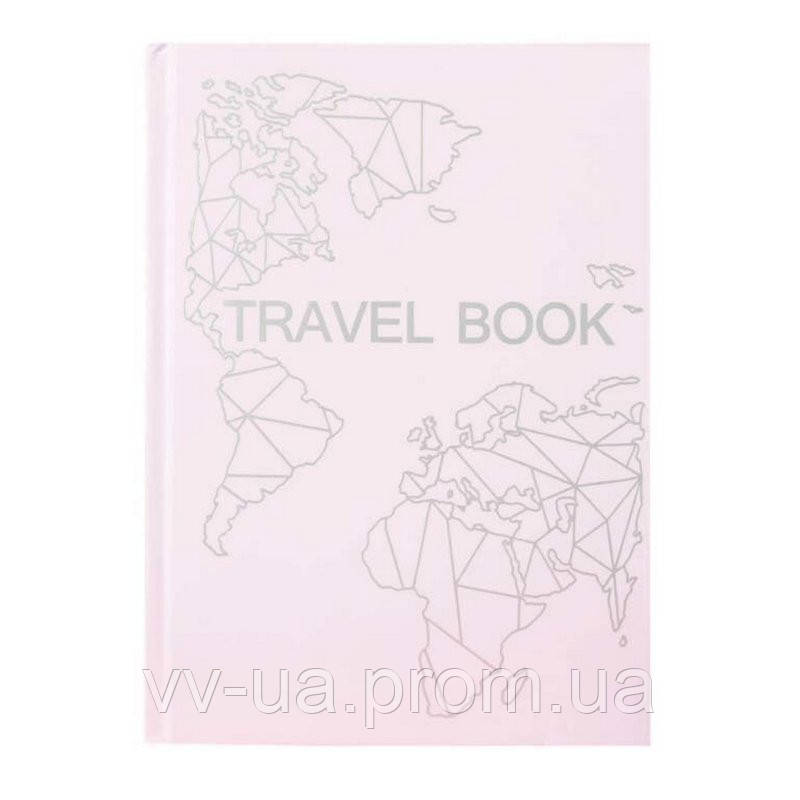Книга записная Travel Book Pink (4820219980025)