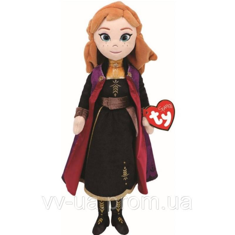 Мягкая игрушка TY Frozen Анна, 25 см (звуковой эффект) (2407)
