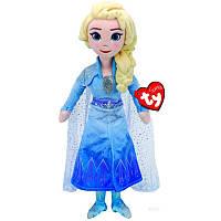 Мягкая игрушка TY Frozen Эльза, 25 см (звуковой эффект) (2406)