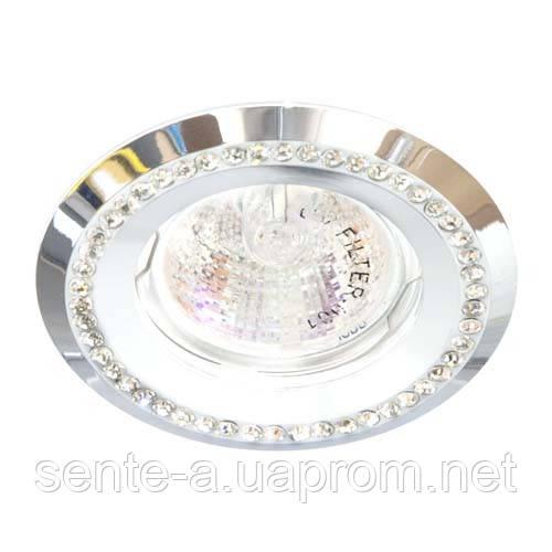 Встраиваемый светильник Feron DL103-W прозрачный белый