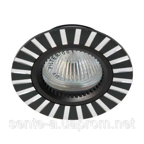 Встраиваемый светильник Feron GS-M364 черный