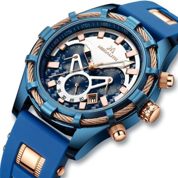 Часы кварцевые наручные мужские MegaLith
