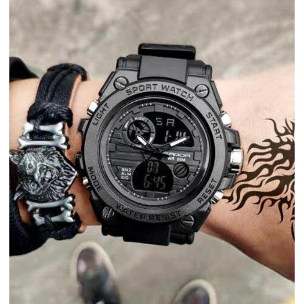 Оригинальные мужские спортивные часы Sanda
