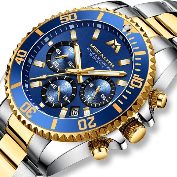 Стильные элегантные часы для настоящих мужчин MegaLith