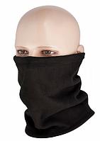Многофункциональный шарф-труба из флиса с затяжкой цвет черный 40528002, фото 1