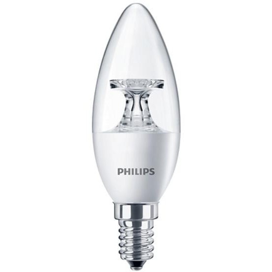 Лампочка Philips LEDcandle ND E14 5.5-40W 230V 2700K B35 CL AP