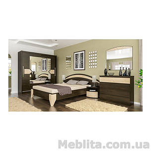 Спальня Аляска венге/дуб самоа Мебель-Сервис , фото 2