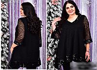 Блузка украшенная пайеткой, с 58-64 размер, фото 1