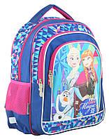 Рюкзак школьный ортопедический 1 Вересня S-22 Frozen, 37*29*12 код: 555269