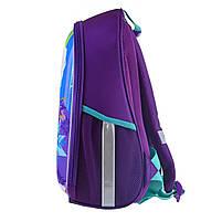 Рюкзак школьный ортопедический каркасный 1Вересня H-27 Frozen код: 557711, фото 3