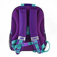 Рюкзак школьный ортопедический каркасный 1Вересня H-27 Frozen код: 557711, фото 5