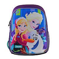 Рюкзак школьный ортопедический каркасный 1Вересня H-27 Frozen код: 557711, фото 6