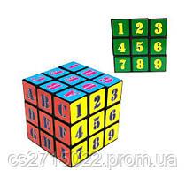 Кубик Рубика с цифрами и буквами 3 х 3 х 3 IGR27