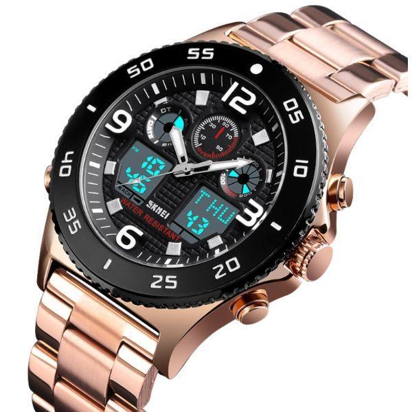 Деловые мужские часы отлично подойдут к рубашкам Skmei Paradise