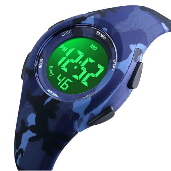 Спортивные часы мужские с расцветкой камуфляж Skmei Mini
