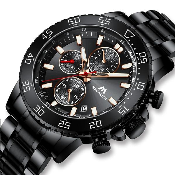 Брутальные мужские наручные часы MegaLith Tank