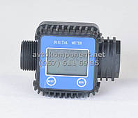 Электронный счетчик насоса для перекачки топлива  (арт. DK8018), AEHZX