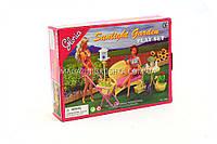 Детская игрушечная мебель Глория Gloria для кукол Барби Садовая мебель 9926. Обустройте кукольный домик