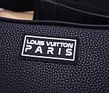 Сумка клатч Луи Витон канва Monogram, кожаная реплика, фото 4