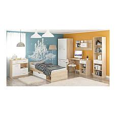 Комод 3Д2Ш Типс Белый - Мебель Сервис, фото 3