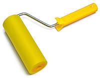 Валик притискний гумовий з ручкою d 6мм, 40 мм Favorit 03-775   прижимной резиновый ручкой