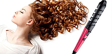 Спиральная плойка для волос Nova NHC 8558, плойка для завивки волос, фото 2