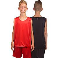 Форма баскетбольная подростковая двухсторонняя Stalker, красный (LD-8300T-(rd)), фото 1