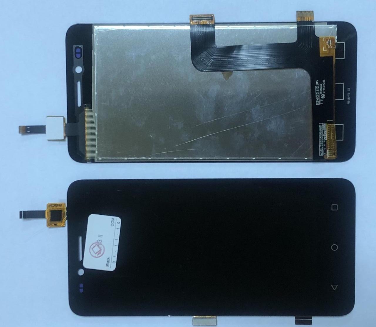 Дисплей модуль для Huawei Y3 II 4G в зборі з тачскріном, чорний