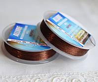Люрекс ALLURE, шоколадный, 100м, Spark Beads