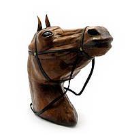 """Голова коня кожа (18"""")"""