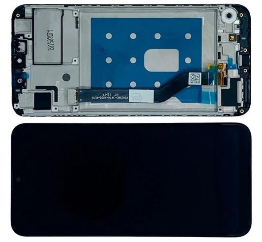 Дисплей модуль Huawei Y7 2019 / Y7 Pro 2019 / Y7 Prime 2019 в зборі з тачскріном, чорний, з рамкою