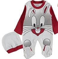 Детский человечек 3,6,9 месяцев заяц