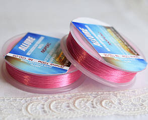 Люрекс ALLURE, яскраво-рожевий, 100м, Spark Beads