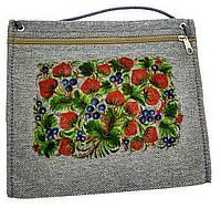 Текстильный кошелек МАЛИНА