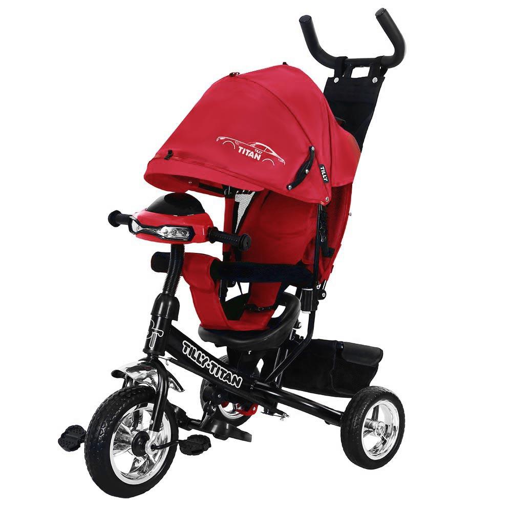 Детский трёхколёсный велосипед Titan, «Tilly» (T-348), цвет Red (красный)