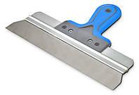 Шпатель сталевий з нержавіючим покриттям фасадний, 300мм Favorit 05-571  |Шпатель фасадный 300мм Favorit 05-571