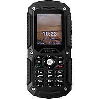"""Неубиваемый мобильный телефон Sigma mobile X-treme PQ67 Black IP68 (2SIM) 2"""" 64/128MB+SD 1,3Мп 3G Гарантия!"""