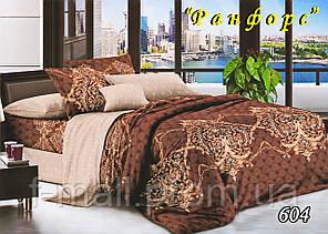 Комплект постельного белья Тет-А-Тет (Украина) полуторный  ранфорс (604)