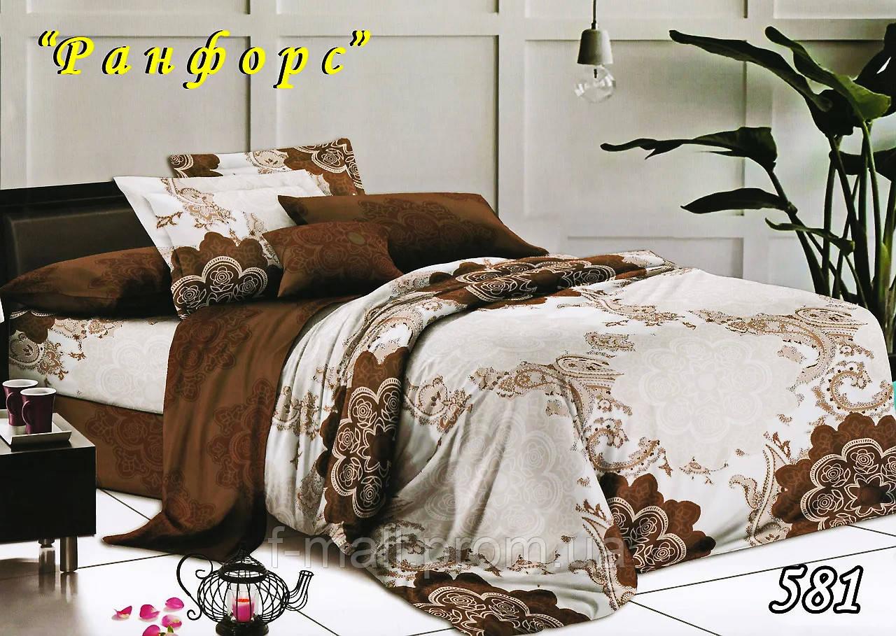 Комплект постельного белья Тет-А-Тет (Украина) полуторный  ранфорс (581)