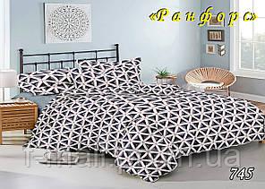 Комплект постельного белья Тет-А-Тет (Украина) полуторный  ранфорс (745)