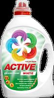 Гель для стирки белых тканей Active White 3 л.