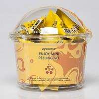 Набор пилинг-гелей с фруктовыми кислотами AYOUME ENJOY MINI PEELING GEL - 30 шт. по 3 г