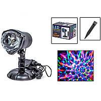 Лазерный проектор Новогодний (уличный)  XX-MQ