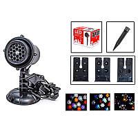 Лазерный проектор Новогодний (уличный) XX-TS-B